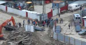 Массовая драка мигрантов произошла в Петербурге