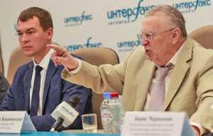 Жириновский сообщил, что ЛДПР не занимается мошенничеством