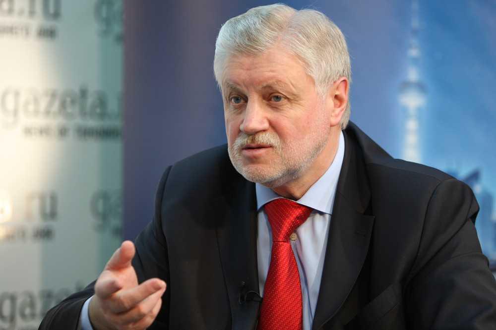 После стрельбы в Казани Миронов выступил за смертную казнь за убийство детей