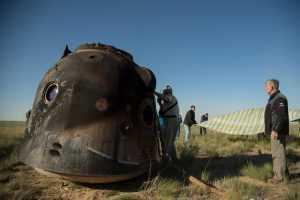 Роскосмос продает спускаемый аппарат Союз