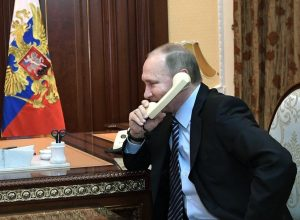 Путин переговорил по телефону с президентом Азербайджана