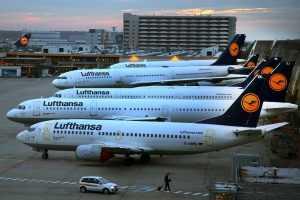 Lufthansa теперь летает в Москву и Петербург мимо Белоруссии