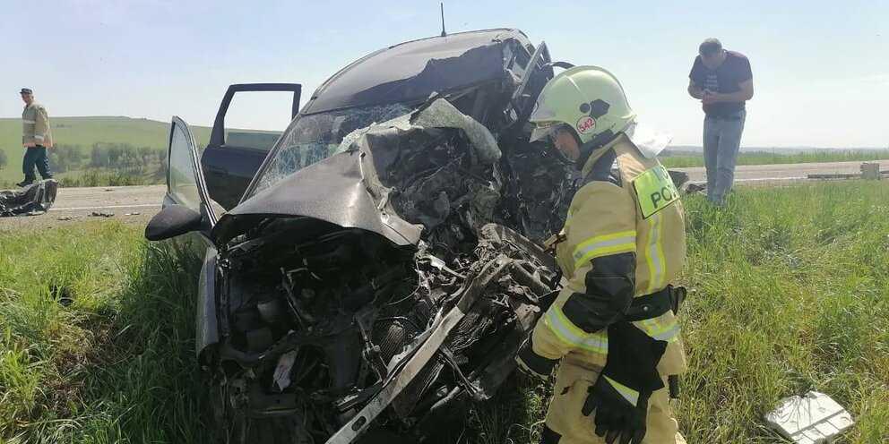 ДТП на Алтае унесло жизни пяти человек