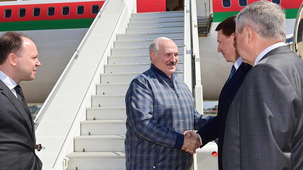 Началась встреча Путина и Лукашенко в Сочи