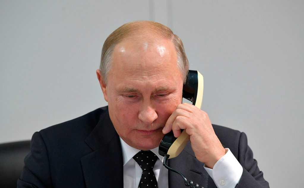 Путин провел телефонные переговоры с президентом Киргизии