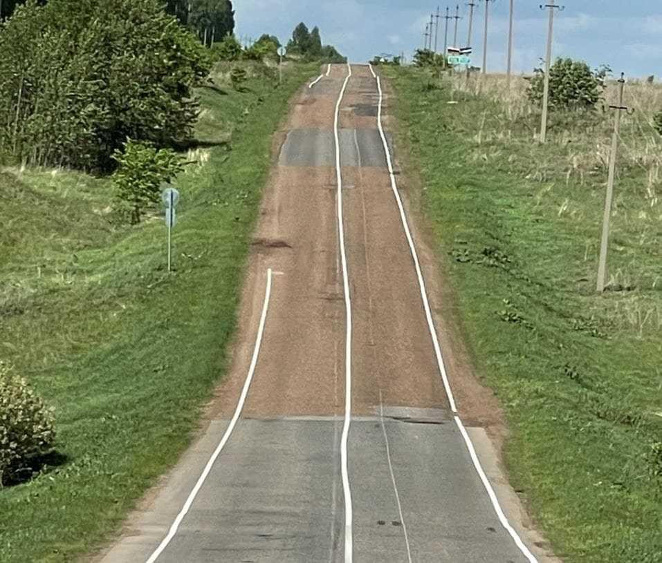 Глава Башкирии заявил, что кривая разметка на дорогах – это преступление