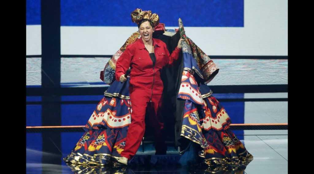 Манижа на Евровидении показала агрессивный образ России