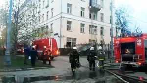 Пожар в отеле Москвы. Один мужчина погиб.