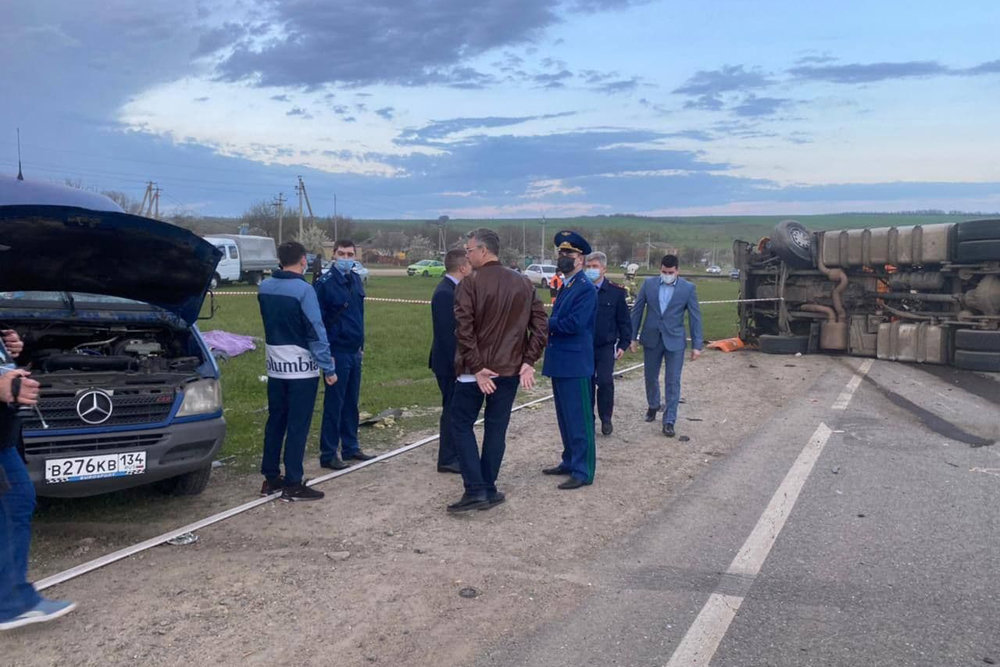 Пострадавших в ДТП под Ставрополем перевезли в Москву
