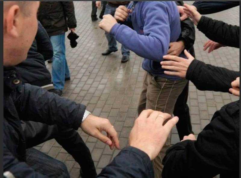 После драки задержали шестерых мигрантов в Петербурге