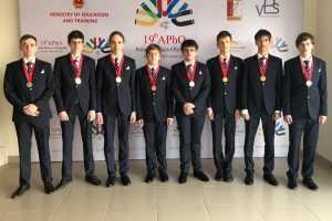 Ученики из России получили золото на Азиатской олимпиаде по физике