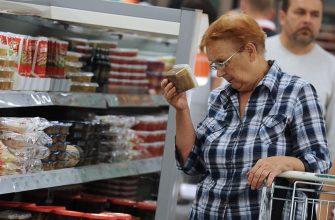 Россиян в будущем ожидает продуктовая инфляция в 15%