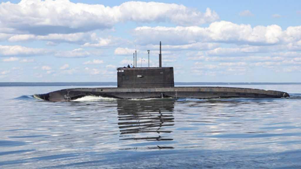 Подлодка России провела учения в Черном море