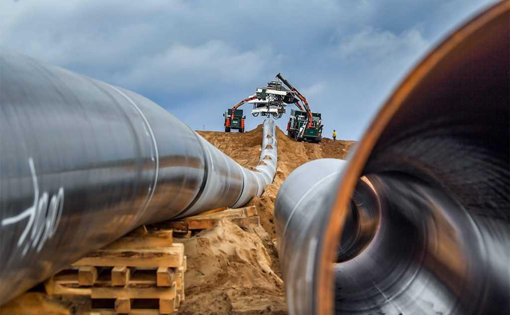 Германия требует сохранения транзита газа через Украину после запуска нового газопровода