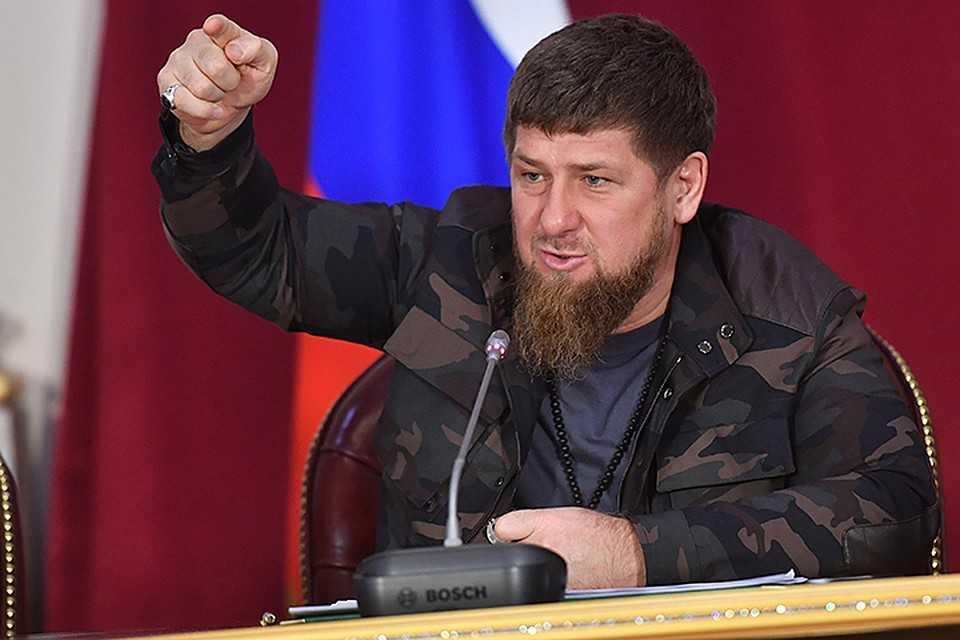 Кадыров во время разговора с Путиным назвал себя его «преданным пехотинцем»