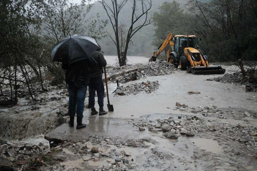 В населённом пункте Кубани ввели ЧС из-за подтоплений