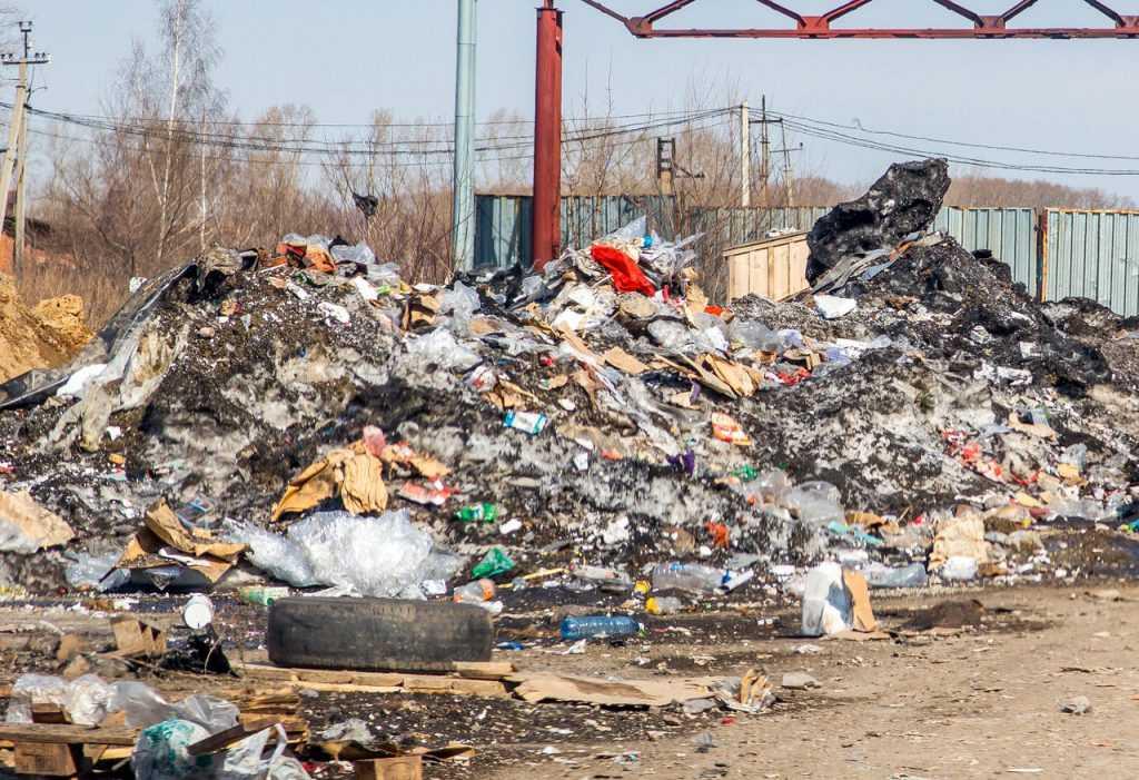 В России идет борьба с незаконными свалками