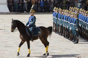 Церемонию развода караулов в Кремле отменили из-за жары
