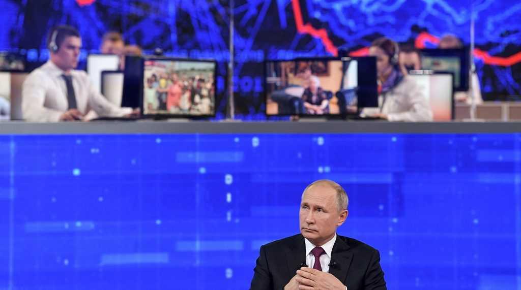 30 июня пройдет прямая линия с Владимиром Путиным