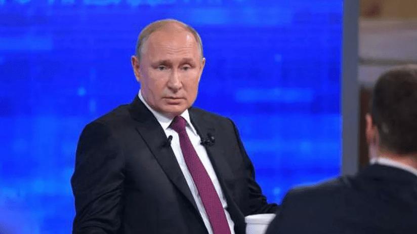 Ожидается прямая линия с Владимиром Путиным