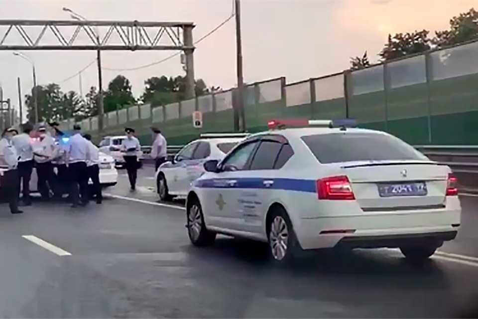 В столице арестован угонщик служебного автомобиля полиции