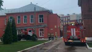 Выявили причину пожара в рязанской больнице