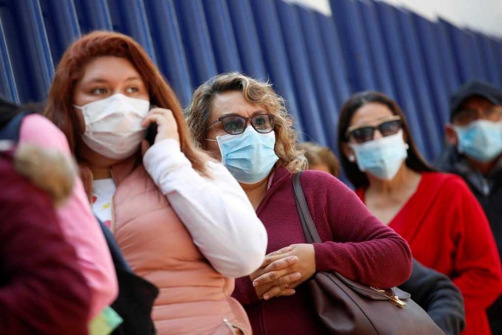 В столице произошло усиление контроля за ношением масок и перчаток