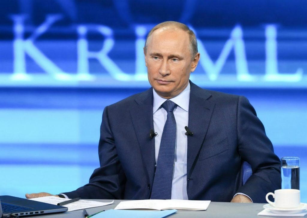 В 2021 году пройдет прямая линия с Владимиром Путиным