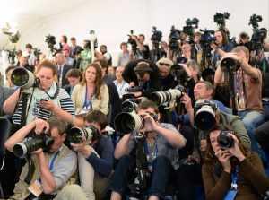 Песков назвал условия для представителей СМИ на встрече президентов России и США