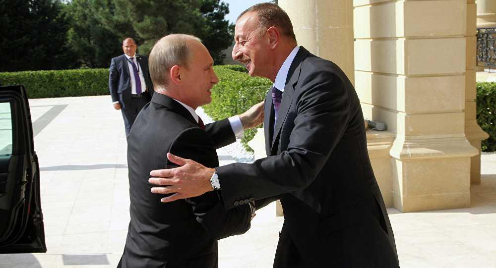 Президенты России и Азербайджана провели телефонный разговор
