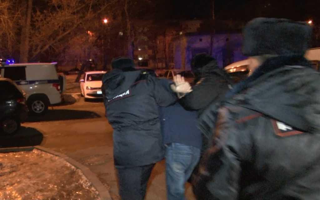 На проезжей части в Казани произошла массовая драка