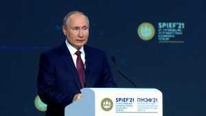 Путину все равно на блокировку сайта Кремля