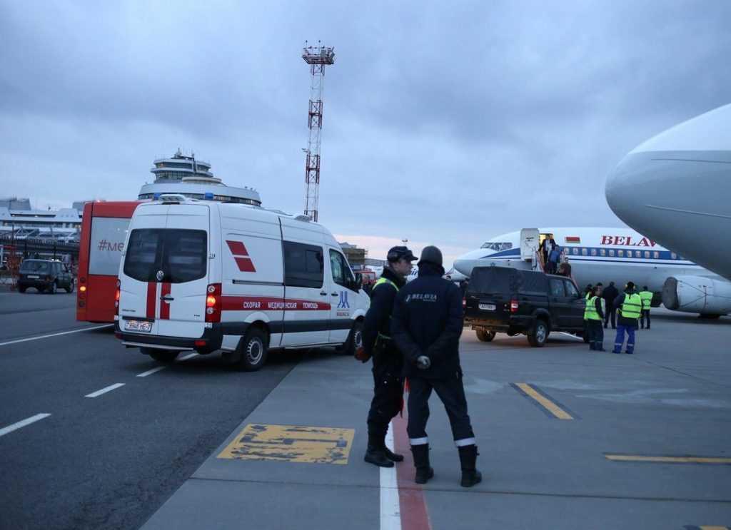 Украина обвинила российские спецслужбы в причастности к инциденту с самолетом Ryanair в Минске