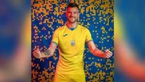 Футболисты Украины едут на Евро-2020 в новой форме с изображением Крыма