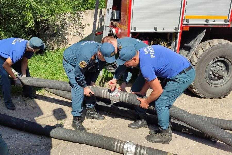 Режим ЧС в Воронеже. Более 300 тысяч горожан остались без воды
