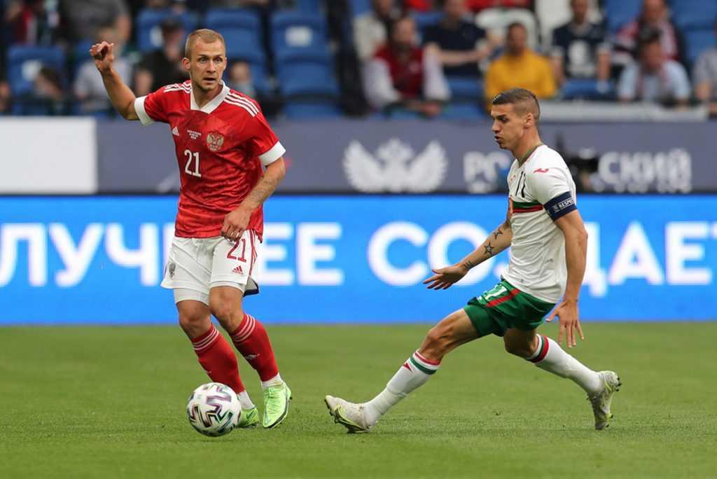 Россию победила Болгарию в контрольном матче перед Евро-2020