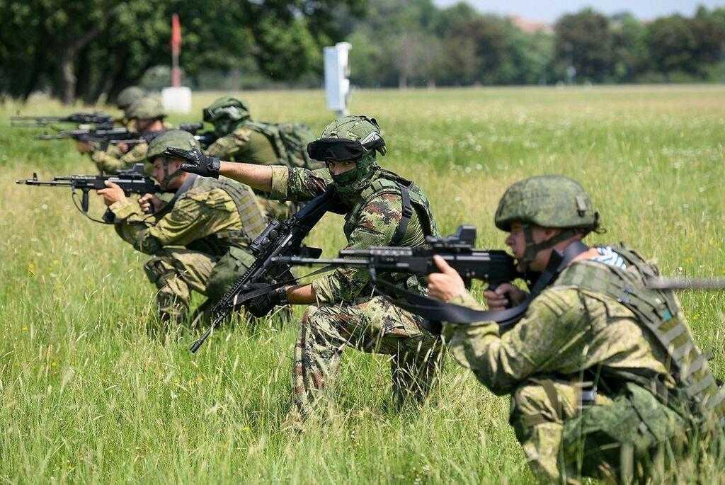 Военнослужащие России, Белоруссии и Сербии провели тактическое учение «Славянское братство-2021»