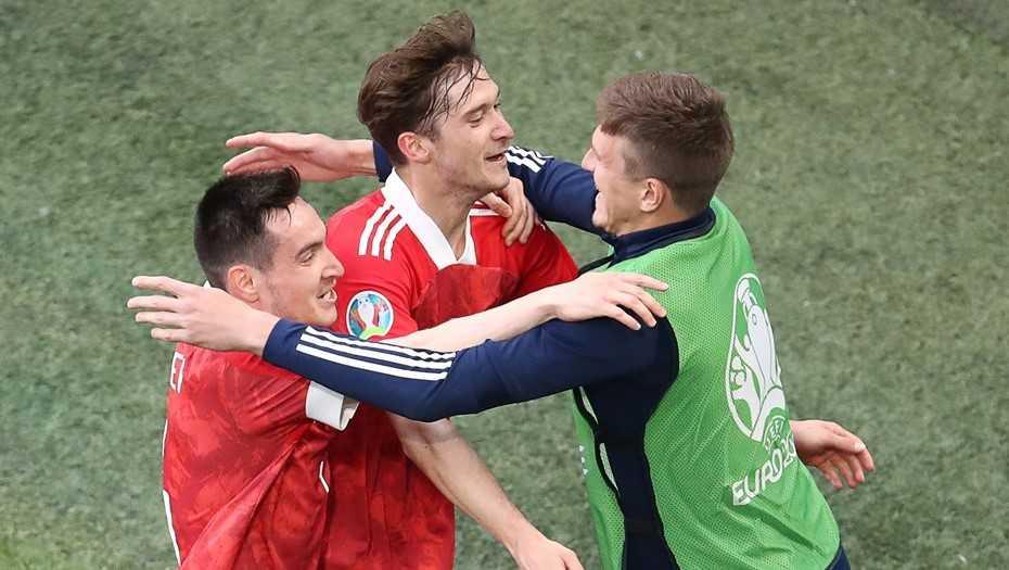 Российские футболисты выиграли у финнов со счетом 1:0