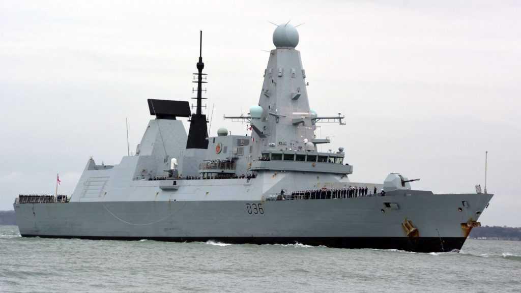 Опубликованы секретные документы о проходе эсминца недалеко от Крыма