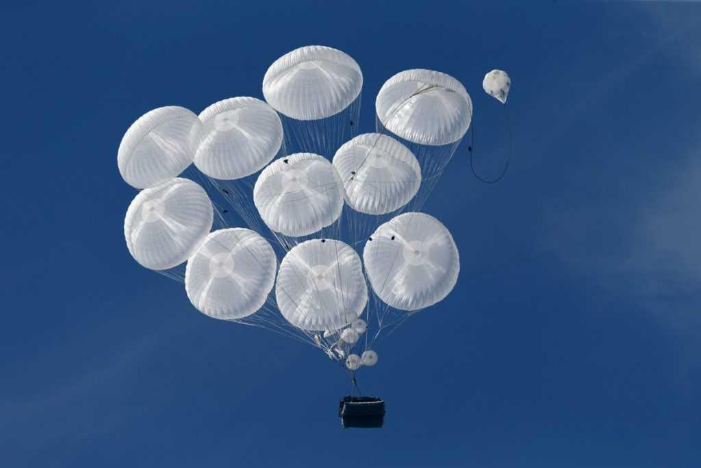 Испытания новых парашютов для Воздушно-десантных войск