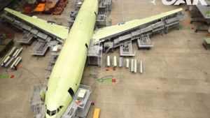 В России начали строить самолет на случай ядерной войны для эвакуации руководства страны