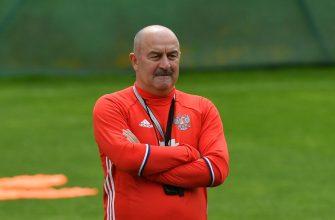 Черчесова уволили с поста главного тренера сборной России
