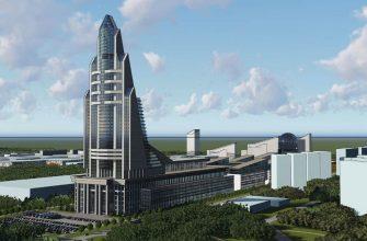 В Москве начали возведение высоток Национального космического центра