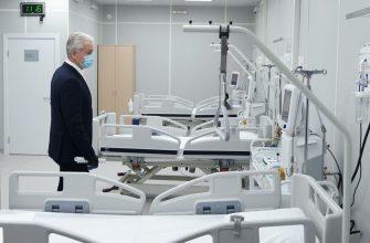 Работа резервных госпиталей для больных коронавирусом