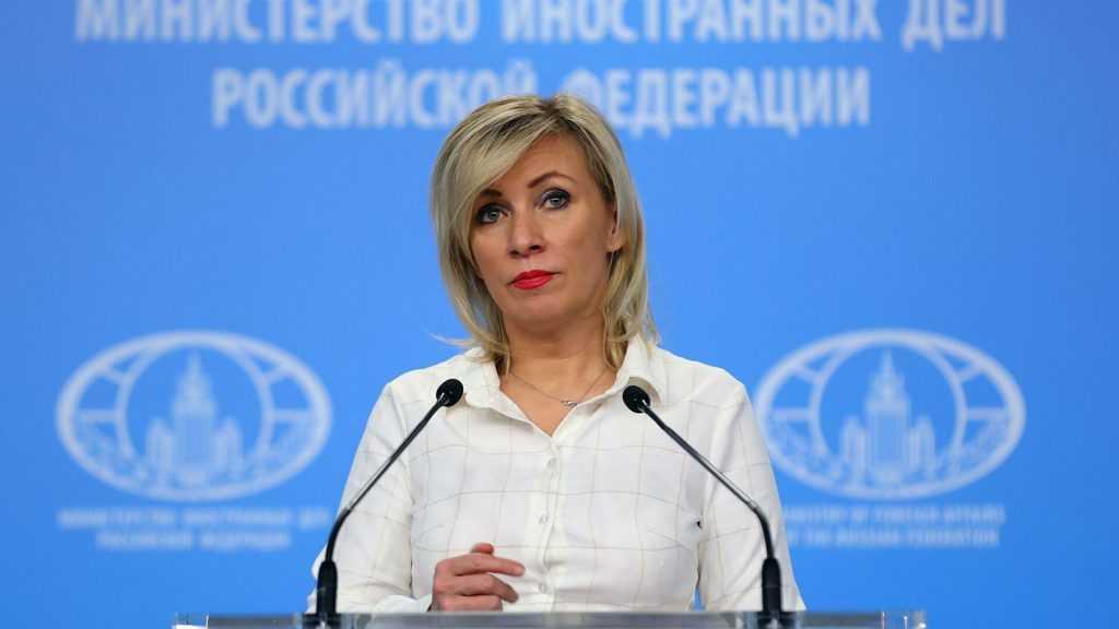 Захарова прокомментировала слова госсекретаря МИДа Франции о вакцине РФ и КНР