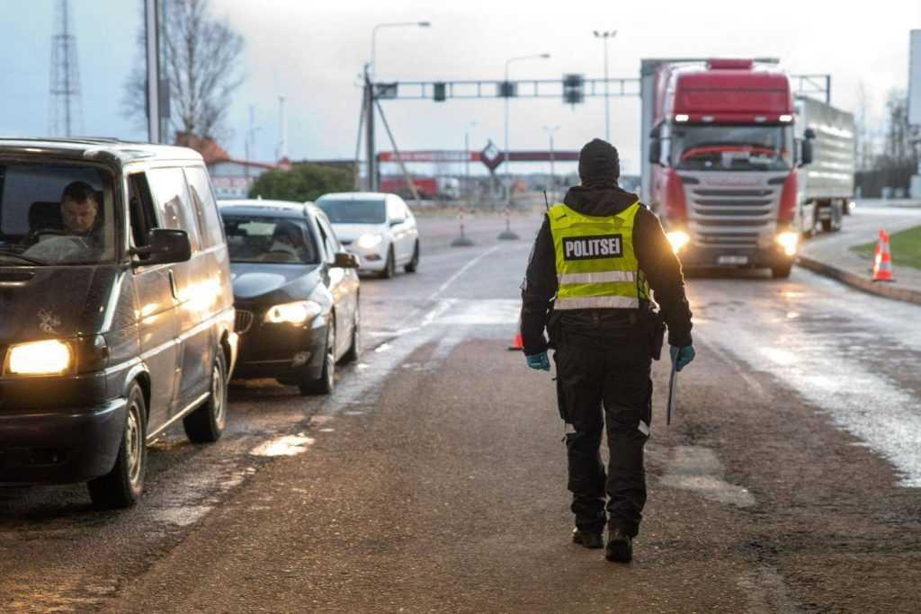 Эстония планирует закрывать границу с Россией из-за коронавируса