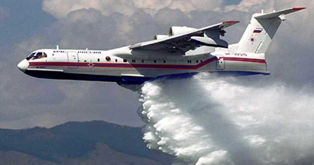 Российский самолет направили в Турцию тушить пожары