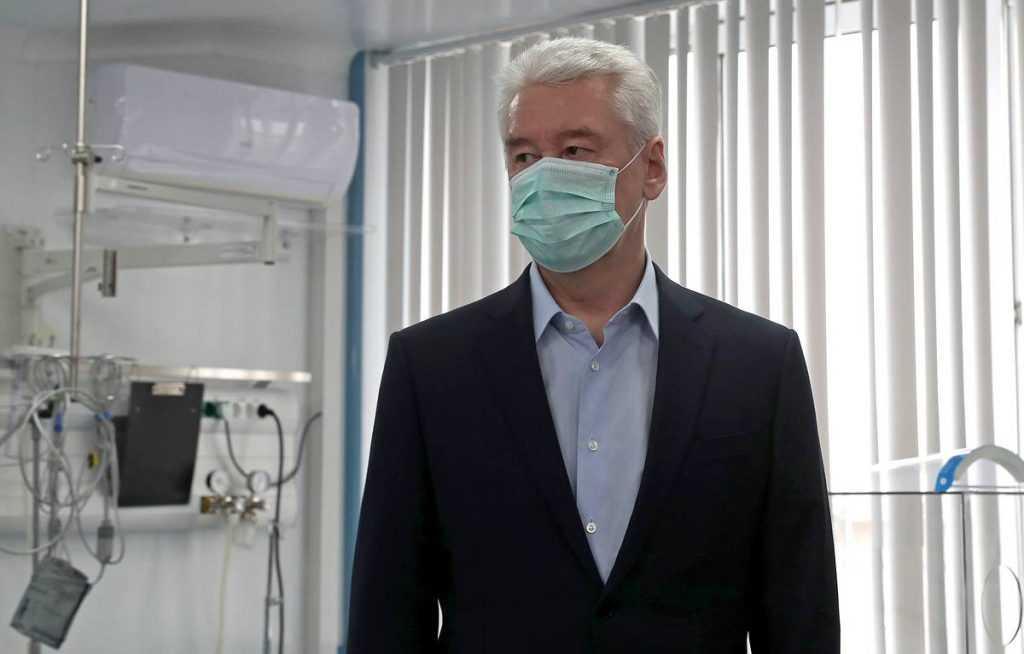 Собянин сообщил, что в Москве тяжелая ситуация с коронавирусом