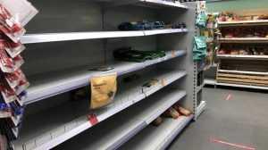 Пятерочка объяснила пустые полки в своих магазинах