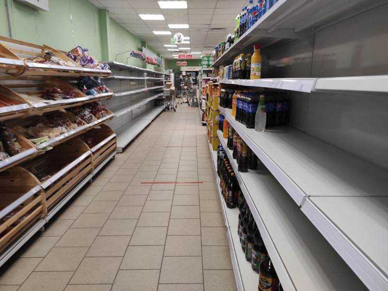 Пятерочка рассказала о причинах пустых полок в магазинах